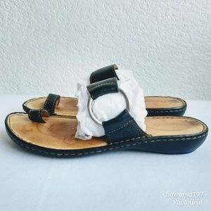 Born Leather Sandals Size 8